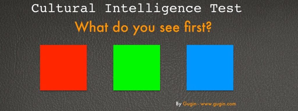 Cultural intelligence test