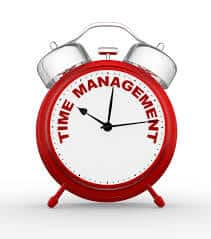 How we manage time