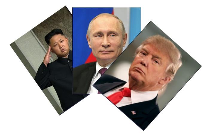 Poll: Who is the greatest threat to world peace, Trump, Putin or Kim Jong-Un? - Gugin