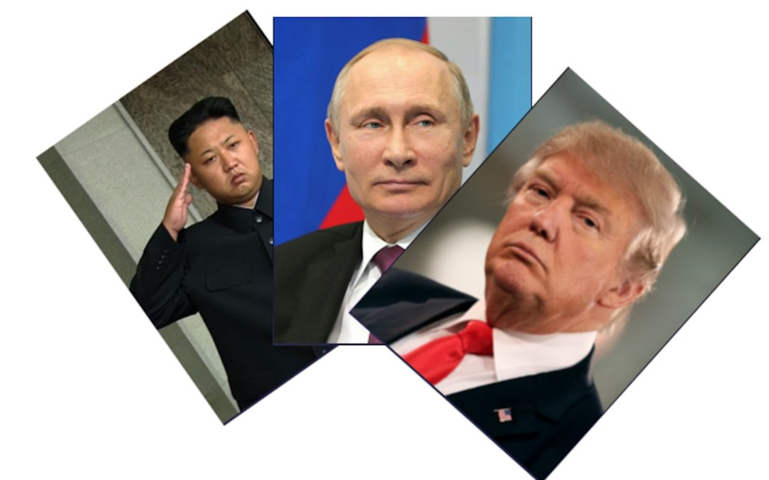 Poll: Who is the greatest threat to world peace, Trump, Putin or Kim Jong-Un?