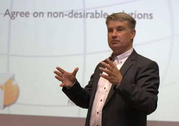 Leadership keynote speaker Finn Majlergaard